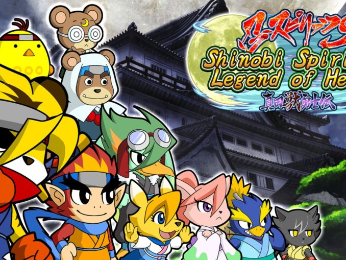 Release - Shinobi Spirits S: Legend of Heroes