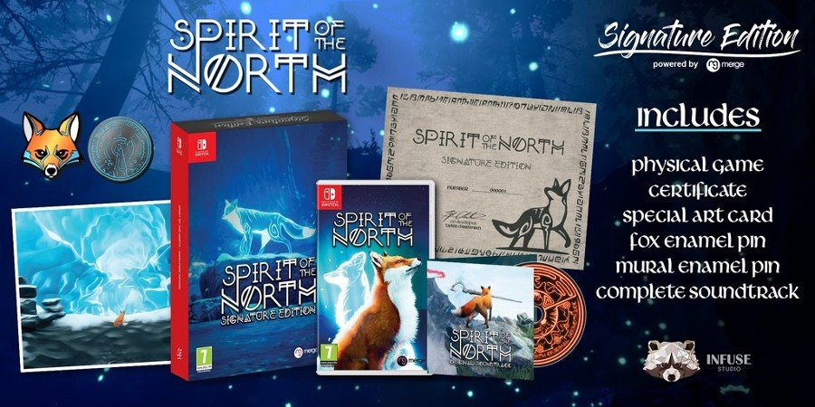 Signature Edition Games – Spirit Of The North fysieke release