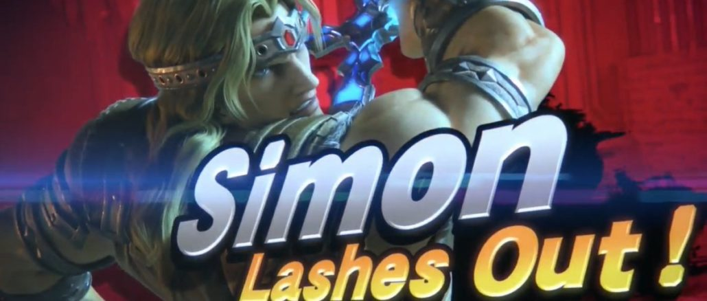 Simon & Richter Belmont nieuwe personages Super Smash Bros. Ultimate