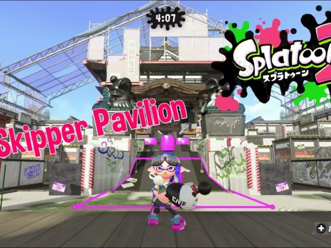 Nieuws - Skipper Pavilion Map Live In Splatoon 2