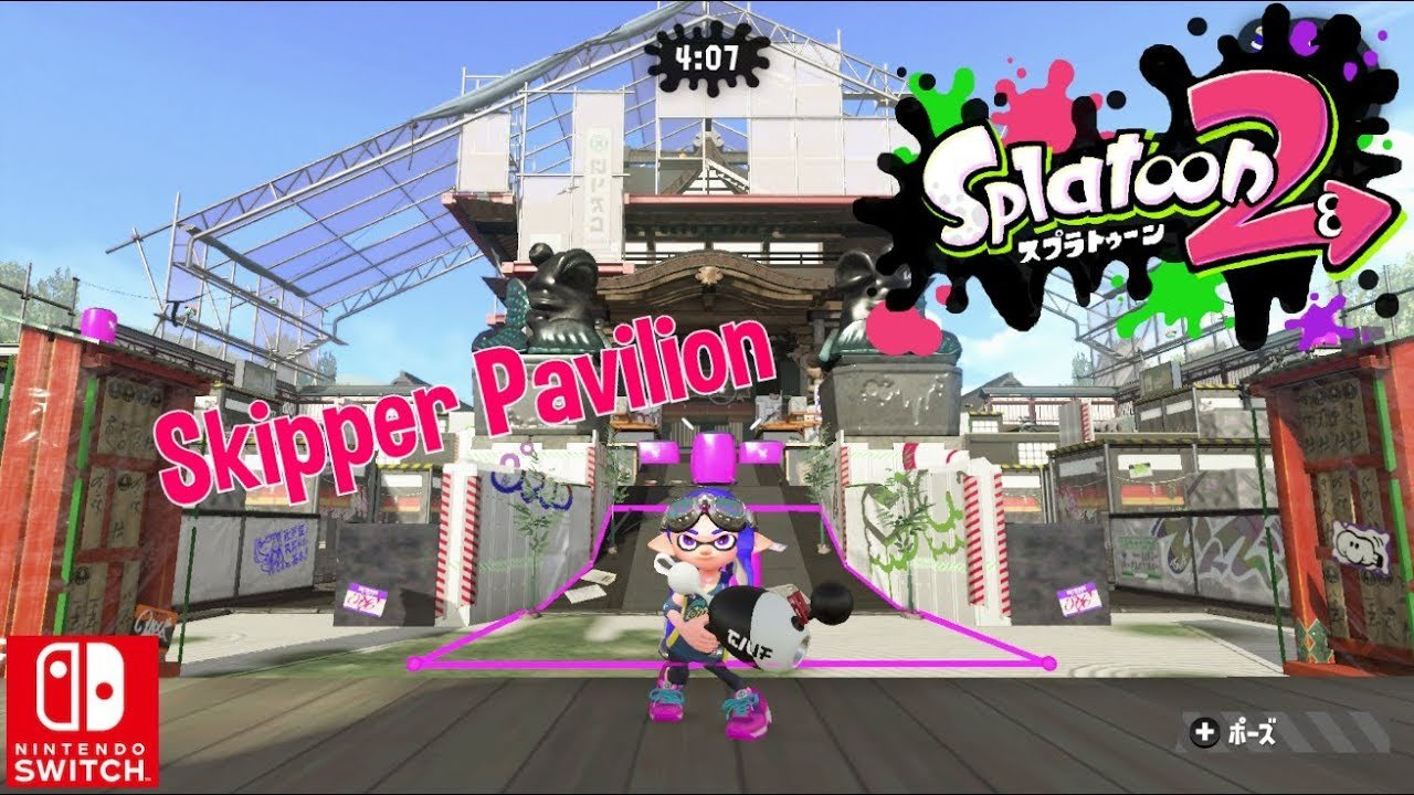 Skipper Pavilion Map Live In Splatoon 2