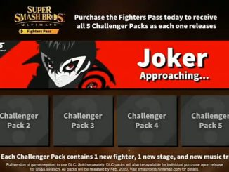 "Smash Ultimate Fighter's Pass DLC – Joker Is ""Approaching…"""