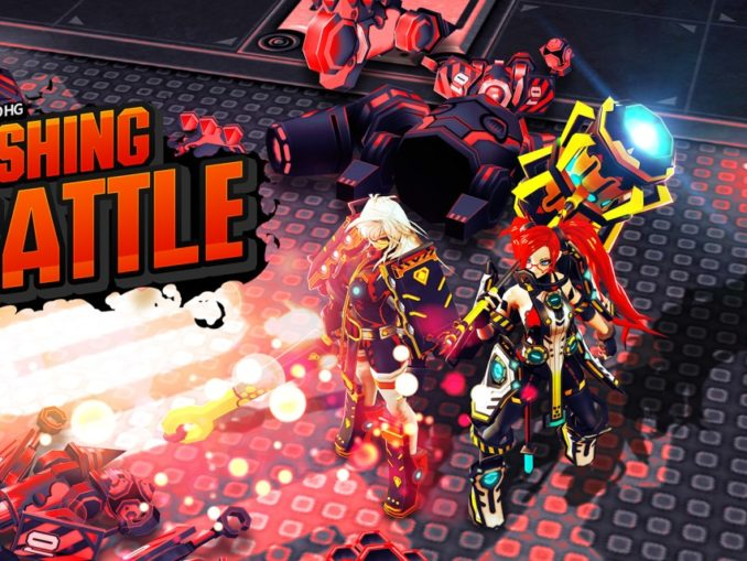 Release - SMASHING THE BATTLE