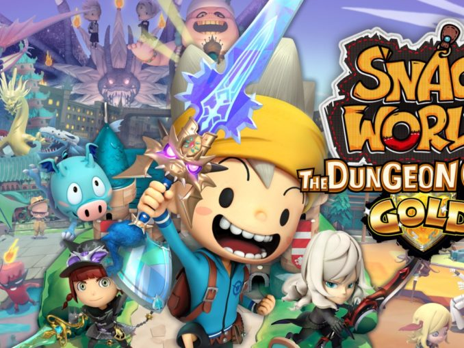 Release - SNACK WORLD: THE DUNGEON CRAWL – GOLD