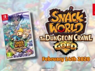 Snack World: The Dungeon Crawl – Gold officieel aangekondigd, lancering 14 februari 2020