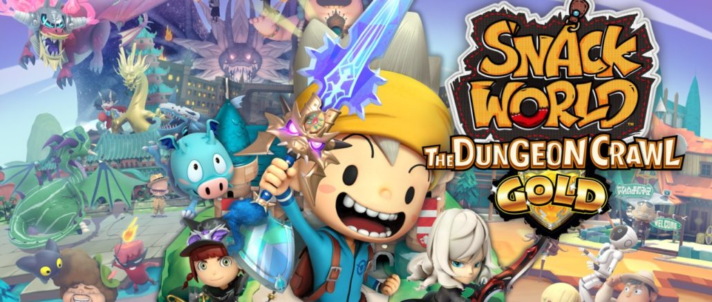 Snack World: The Dungeon Crawl Gold – Let's Go Looting! Gameplay Trailer