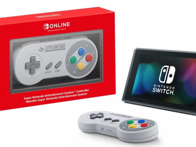 News - SNES Switch Controller unboxing