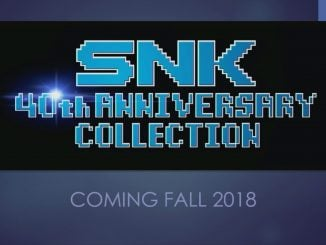 SNK 40th Anniversary Collection this fall