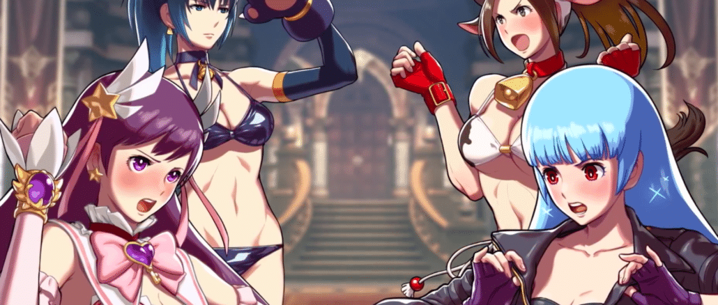 SNK Heroines: Tag Team Frenzy Japanse launch trailer