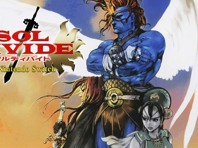 Release - SOL DIVIDE -SWORD OF DARKNESS- for Nintendo Switch