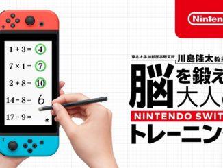 Nintendo is introducing a new Brain Training