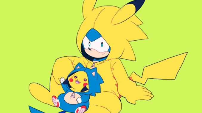 sonic-and-pikachu