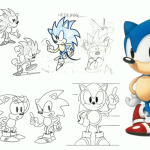 Sonic designer; Sonic was a humanboy