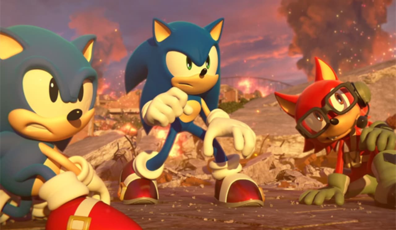 Sonic movie at the end of 2019