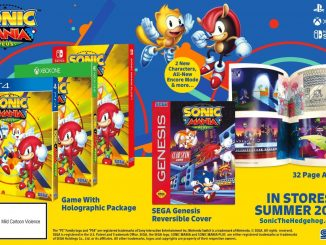 Sonic Mania Plus launches July19th in Japan