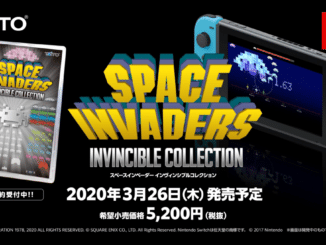 Space Invaders: Invincible Collection komt in Japan op 26 Maart