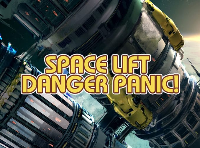 News - Space Lift Danger Panic! coming 15th February 2019