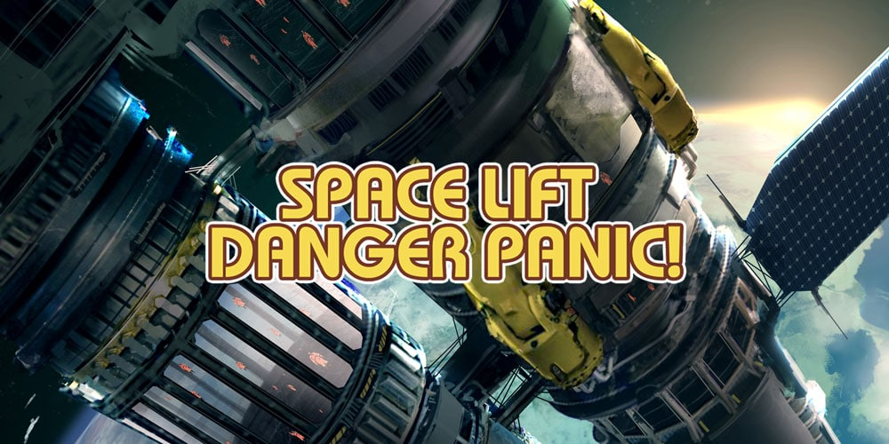 Space Lift Danger Panic! coming 15th February 2019