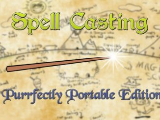 Spell Casting: Purrfectly Portable Edition