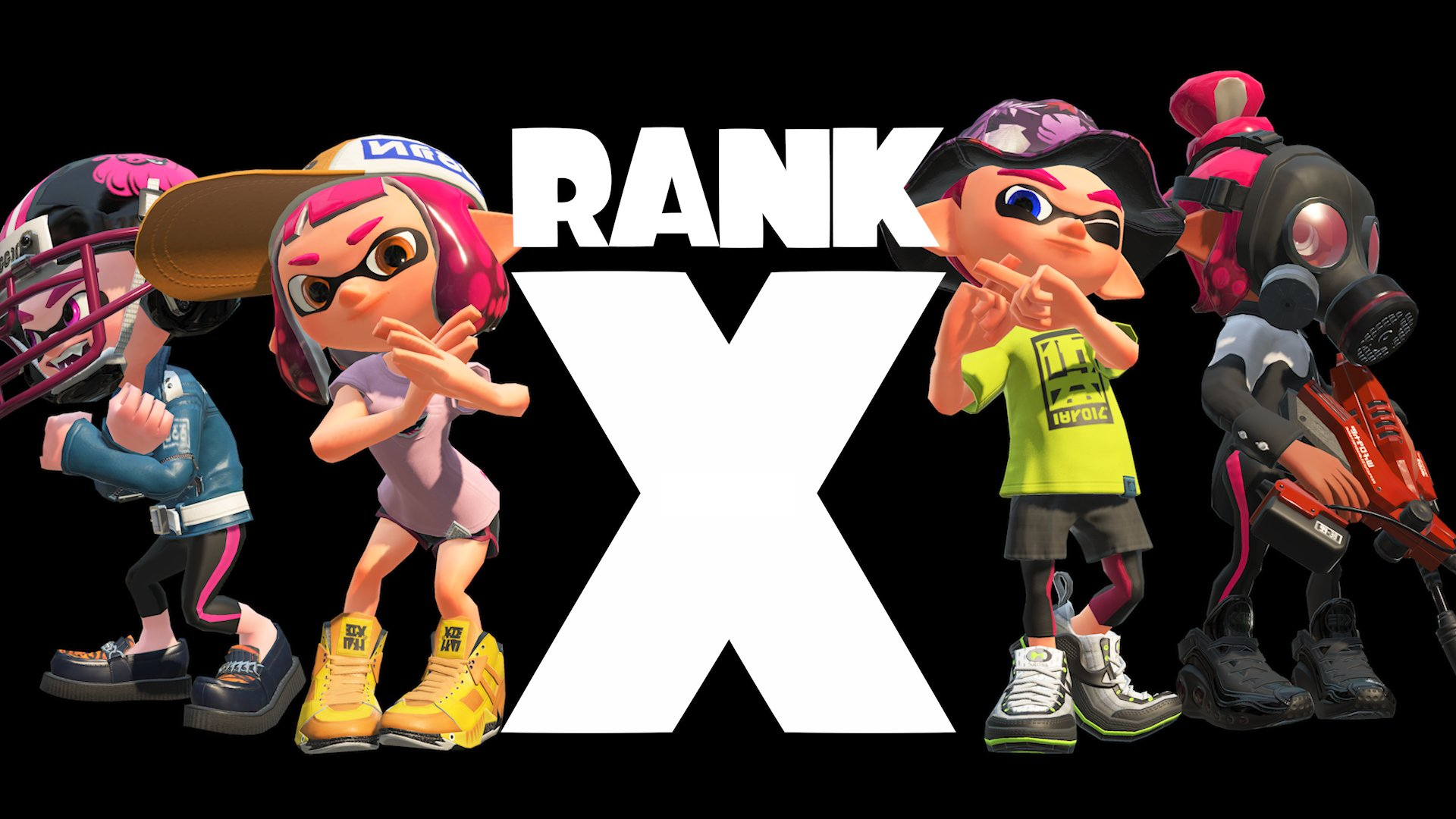 Splatoon 2 Rank X informatie