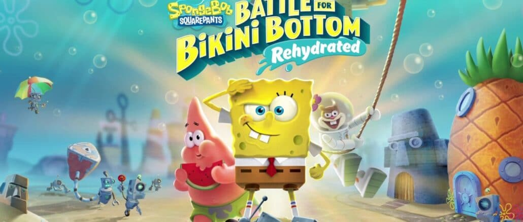 SpongeBob SquarePants: Battle For Bikini Bottom – Rehydrated – 1 miljoen+ exemplaren verkocht