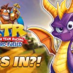 Spyro playable in Crash Team Racing Nitro-Fueled?