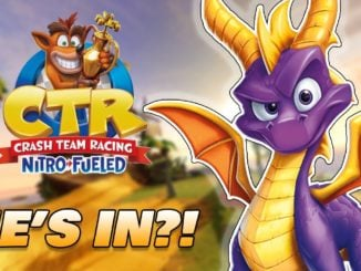[FEIT] Spyro speelbaar Crash Team Racing Nitro-Fueled?