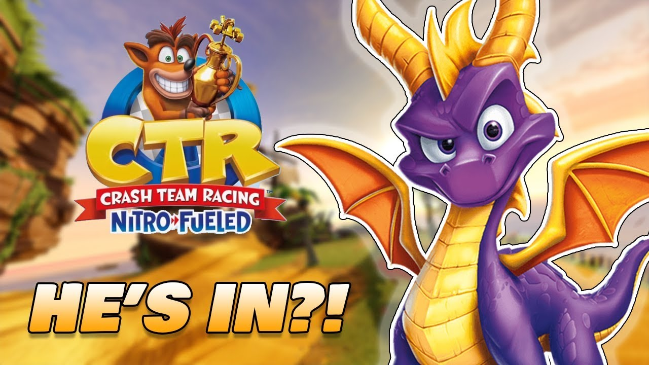 Spyro speelbaar Crash Team Racing Nitro-Fueled?