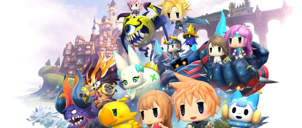 Square Enix – Nieuwe World Of Final Fantasy Maxima details