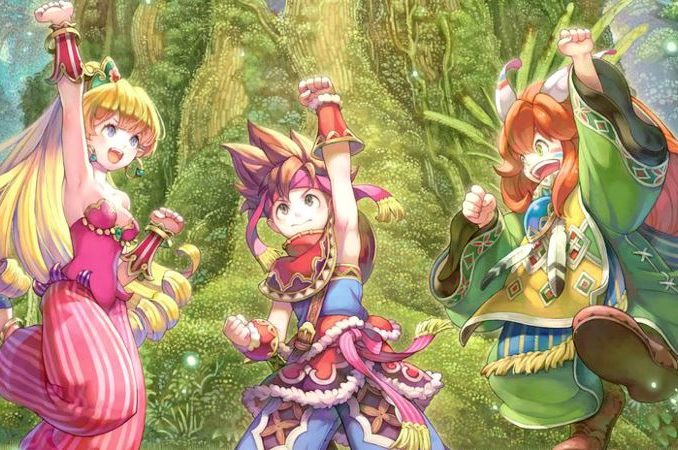 Nieuws - Square Enix trademark Collection Of Mana