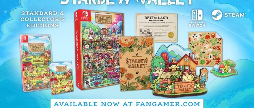 Stardew Valley – Standard en Collector's edities onthuld