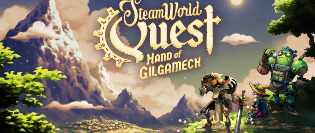SteamWorld Quest – Hand of Gilgamech – Launch Trailer