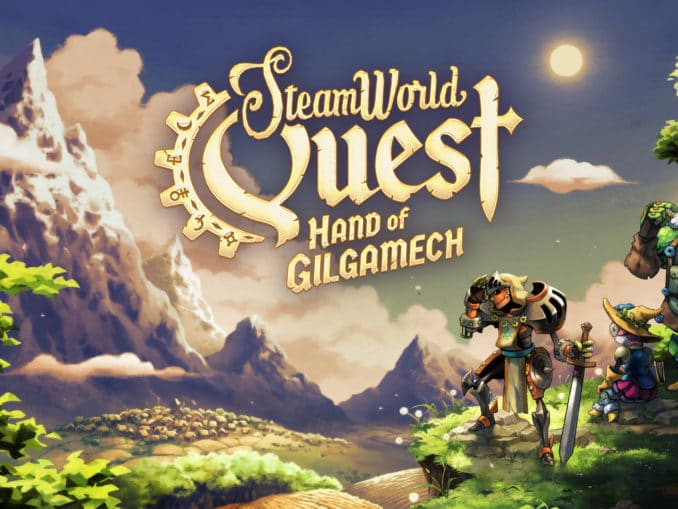 Nieuws - SteamWorld Quest – Hand of Gilgamech – Launch Trailer