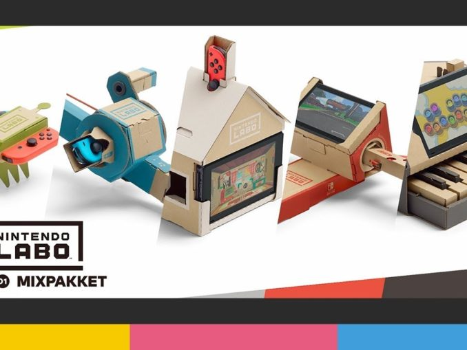 News - Vote for Nintendo LABO in toy of the year!