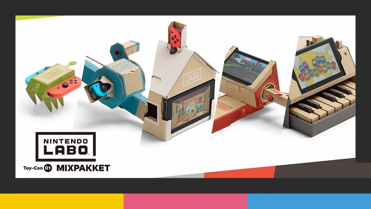 Vote for Nintendo LABO in toy of the year!