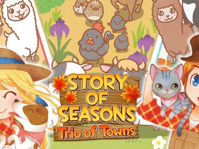 Release - Story of Seasons: Trio of Towns