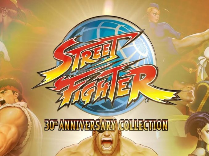 Nieuws - Street Fighter 30th Anniversary Collection launch trailer