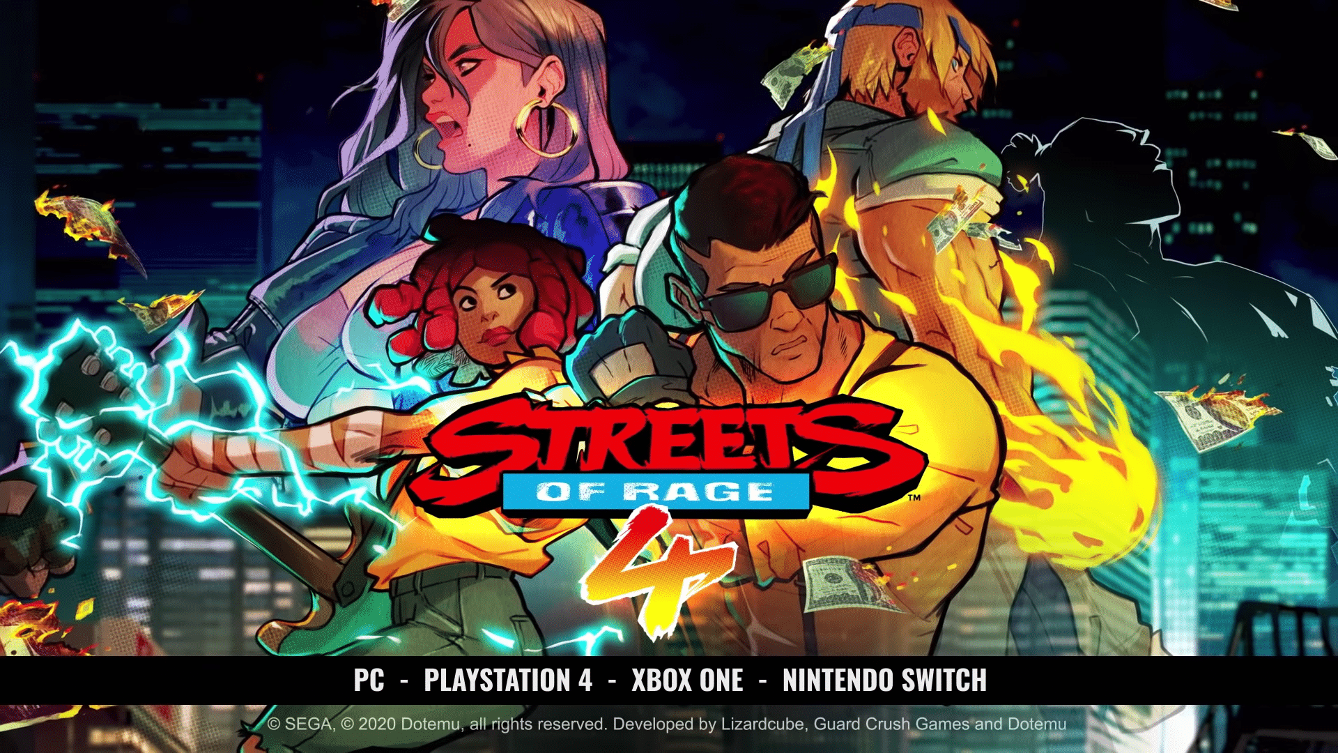 Streets Of Rage 4 Behind The Art Nintendo Switch News