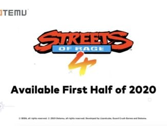 Streets Of Rage 4 – First Half 2020