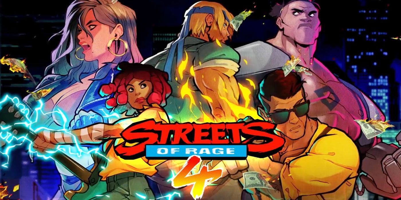 Streets Of Rage 4 – Launches April 30th