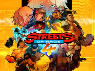 Streets Of Rage 4 – Vinyl Soundtrack en Cover Art details