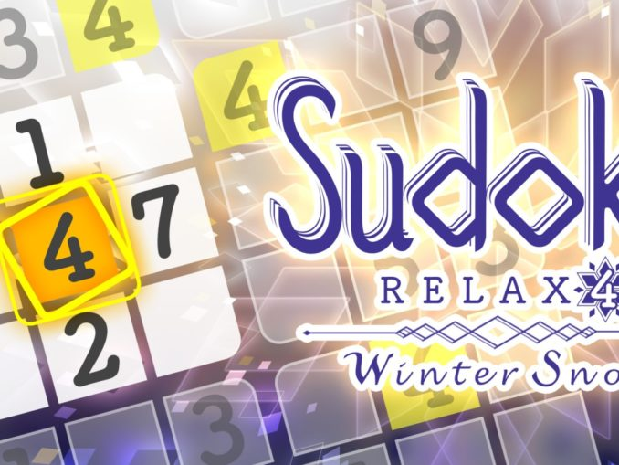 Release - Sudoku Relax 4 Winter Snow