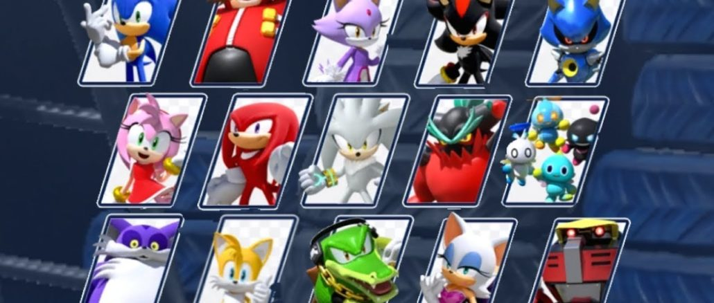 Sumo Digital – Team Sonic Racing Characters