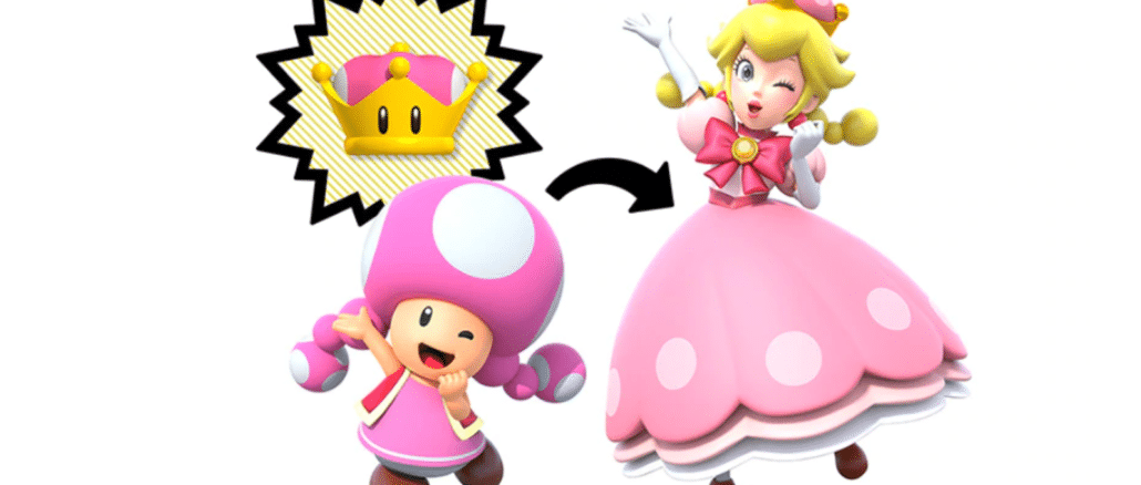Super Crown is alleen van invloed op Toadette In New Super Mario Bros. U Deluxe