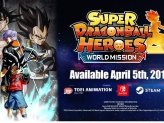 Super Dragon Ball Heroes: World Mission coming April 5th
