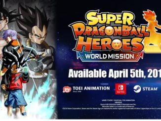 Super Dragon Ball Heroes: World Mission komt op 5 April
