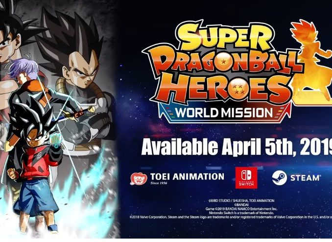Nieuws - Super Dragon Ball Heroes: World Mission komt op 5 April