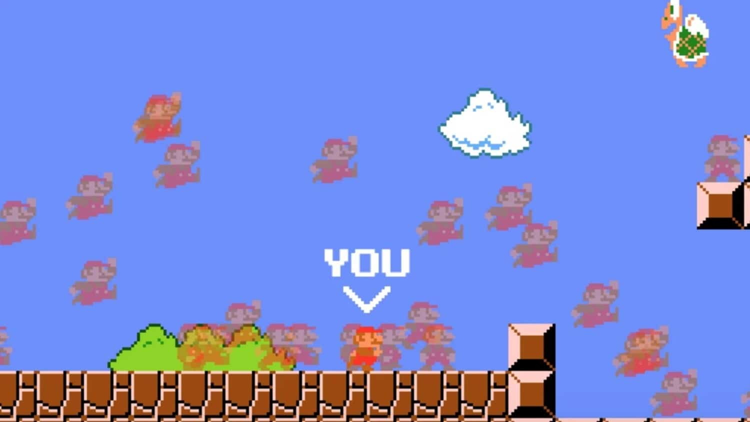 Super Mario Battle Royale fan creatie