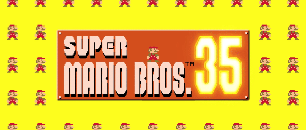 Super Mario Bros. 35 – Gratis voor Nintendo Switch Online Members op 15 Oktober