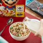 Super Mario Cereal available on Amazon